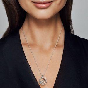 Pandora Sparkling Locket Necklace